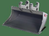 Graafbak 70 cm - Husqvarna - Mvo Rental - Aanbouwdelen DXR140