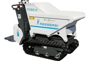 Rupsdumper -Messersi TC50-e - MVOrental.nl